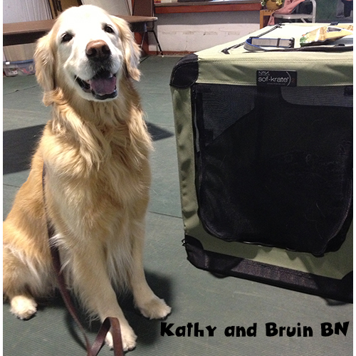 Kathy and Bruin BN